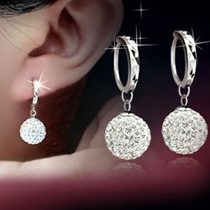 Jewelry - Brand New silver and crystal earrings